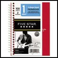 Five star notebook