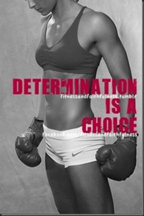 determination is