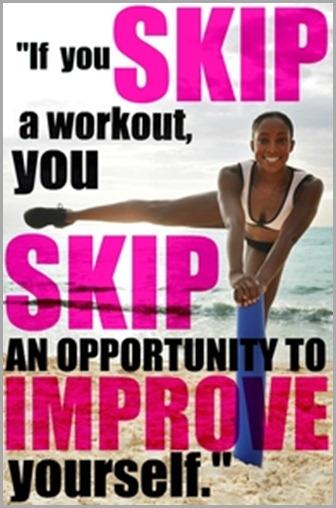 if you skip