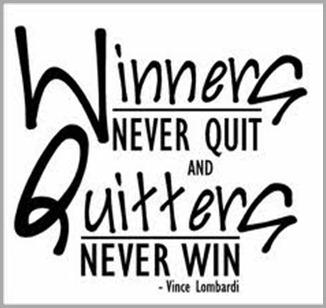 winners don't quit