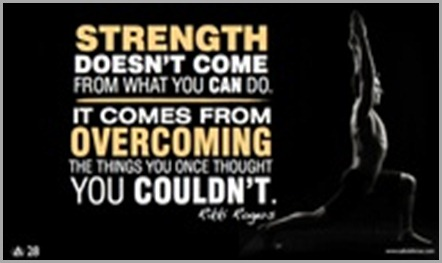 strength and overcoming