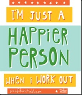 im just a happier person...