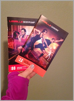 bodypump and cx