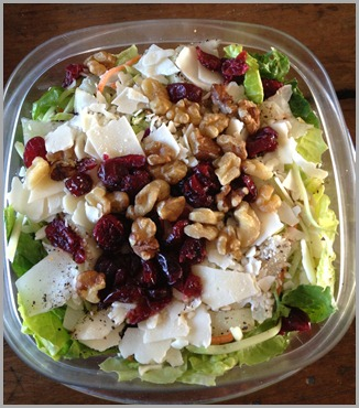 eve salad for lunch