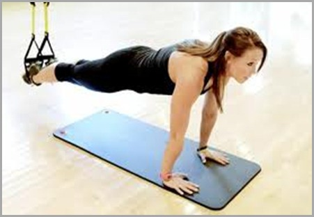 example of TRX plank