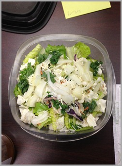 monday lunch salad