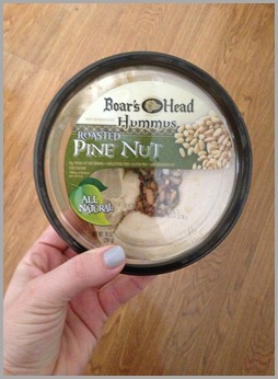 pine nut hummus