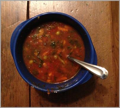 veggie soup 2