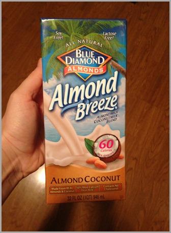 almond breeze coconut