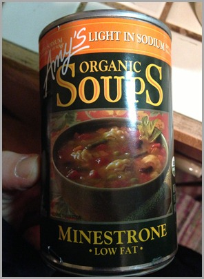 amys organice minestrone soup