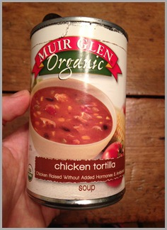 chicken torilla soup can