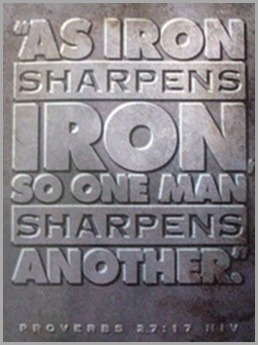 iron shapens iron