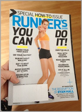 runners magazine read