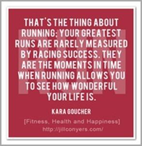 running is