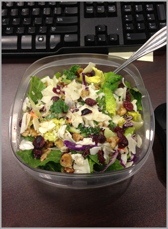 salad for lunch friday