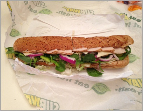 subway footlong friday