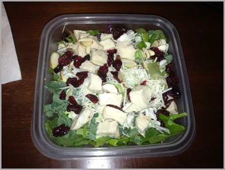 wed salad lunch