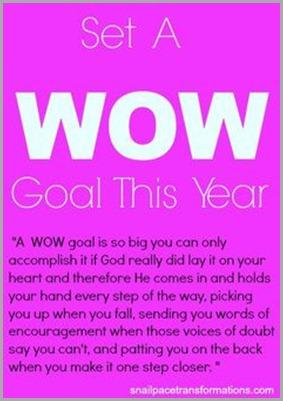 wow goal