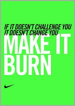 nike make it burn