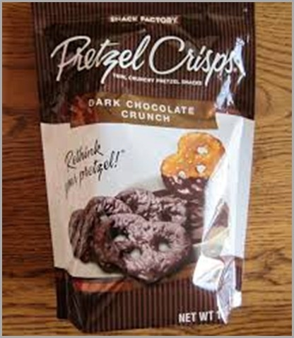 pretzel thins choc