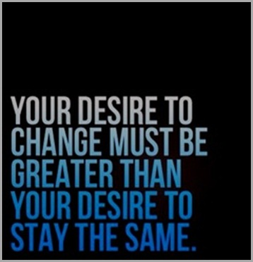 change desire