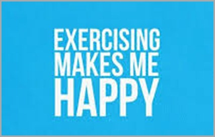 exercise makes happy
