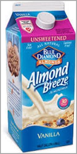vanilla almond unsweet
